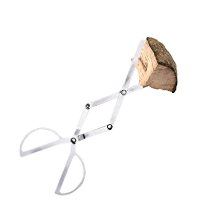 Amazon Com Aquarius Cici Stainless Steel Firewood Tong Portable