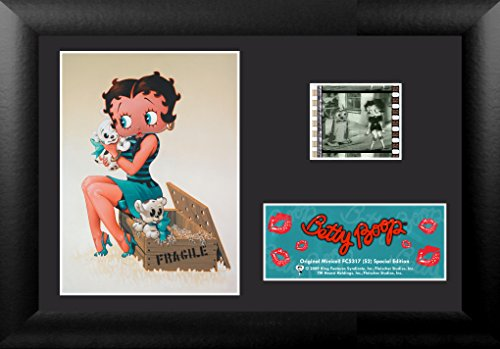Trend Setters Betty Boop Box of Puppies Framed Film Cell Special Edition Display, (Framed Film Cell Limited Edition)