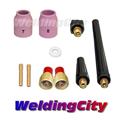(WeldingCity TIG Welding Gas Lens Accessory Kit (1/16