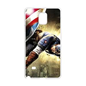 DAZHAHUI Captain America Super Soldier Cell Phone Case for Samsung Galaxy Note4