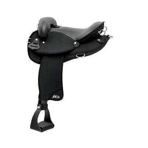 Abetta Serenity Endurance Saddle 16in XWide Black