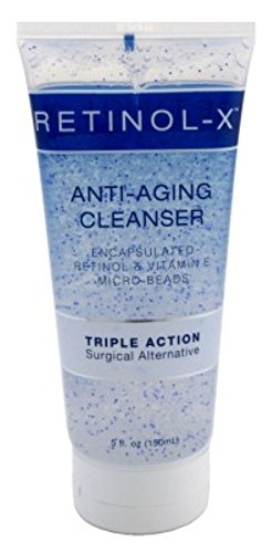 Skincare Retinol Anti-Aging Cleanse 5oz Tube Triple Action (2 Pack) (Action Cream Cleansing Triple)