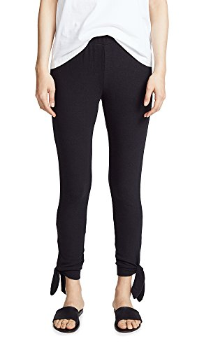 BB Dakota Women's Tie Bottom Pants, Black, (Tie Bottom Pants)