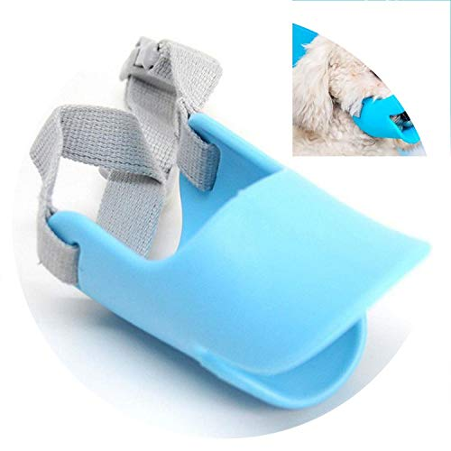 Pet Bites Preventing and Home Biting Mask Cover Dog Adjustable Dog Cat Barking Store Anti Pet etc Mouth,BL,M,Russian Federation