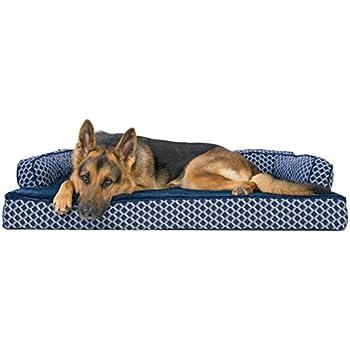 Amazon Com Furhaven Pet Dog Bed Orthopedic Plush