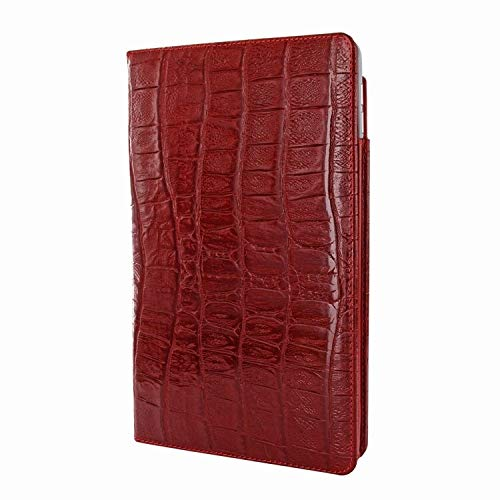 Piel Frama iPad Pro 12.9 2017 Cinema Leather Case - Red Wild Cowskin-Crocodile