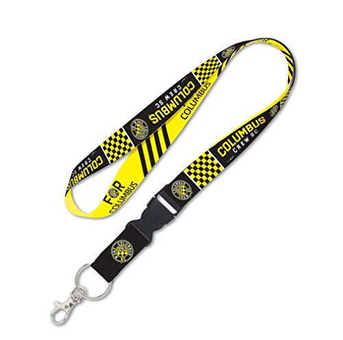 fan products of WinCraft SOCCER Columbus Crew SC Lanyard with Detachable Buckle, 3/4