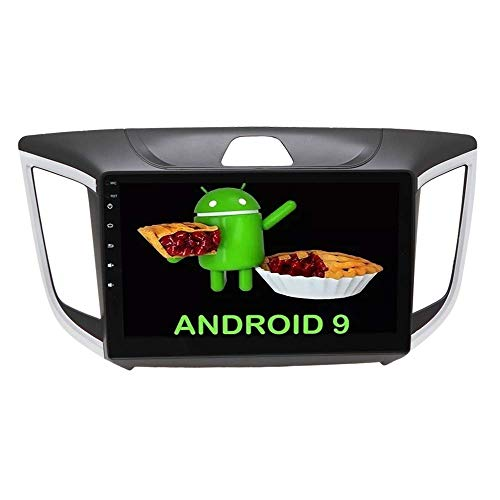 """Central Multimídia Android Creta 10"""" Voolt - Wi-Fi, Waze, Aplicativos on line, TV Digital, GPS, Bluetooth, USB, Rádio, Câmera de Ré, Espelhamento de Celular, Linha Nine IPS Pro"""