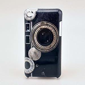 JOE Retro Camera Pattern Hard Case for iPod Touch 4