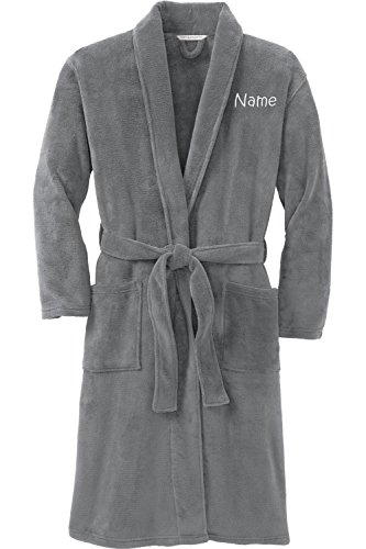 Embroidered Bath Robe - 1
