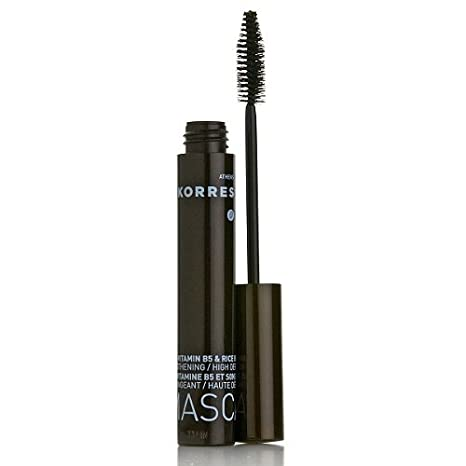 Amazon.com : Korres Pro Vitamin B5 and Rice Bran Mascara - Black : Beauty