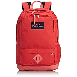 "JanSport All Purpose Backpack - Coral Sparkle / 18""H x 12""W x 7""D"