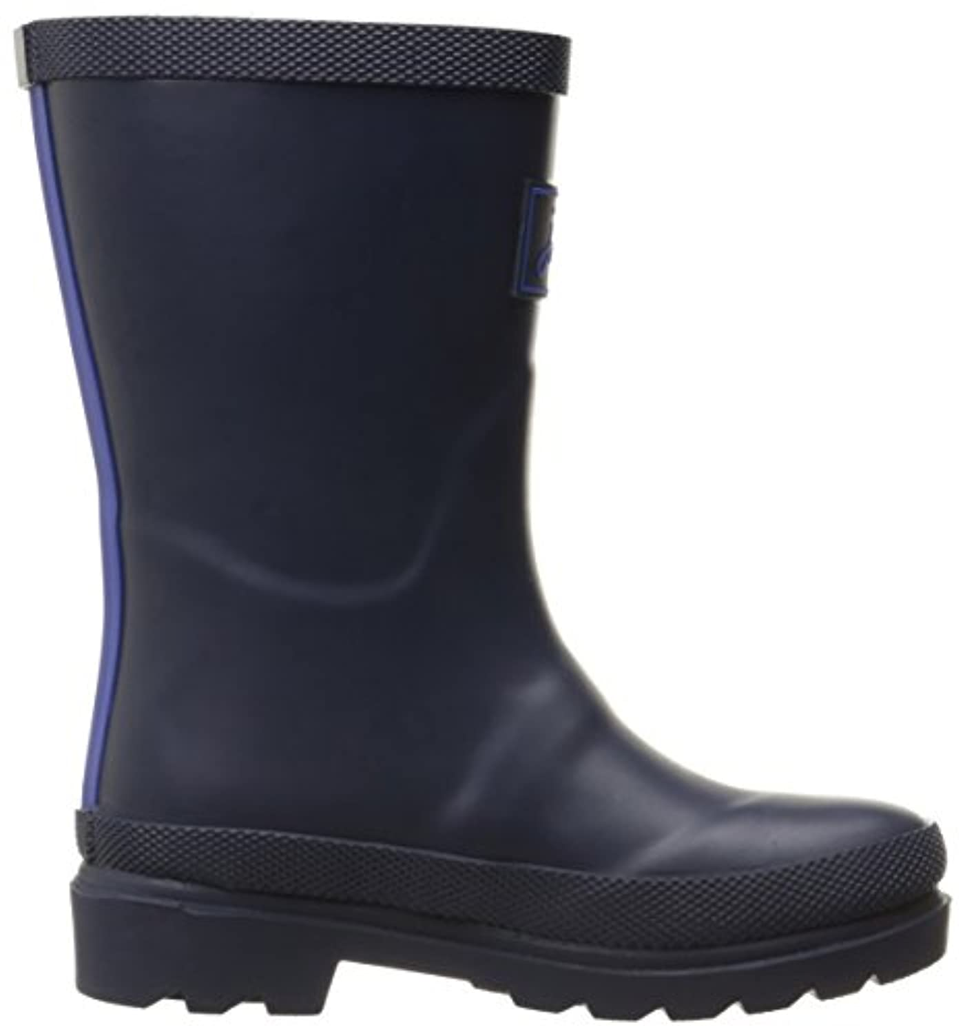 Joules Boys' V_Jnrfieldwlb Rain Boots, Blue (Navy), 8 Child UK 25 EU