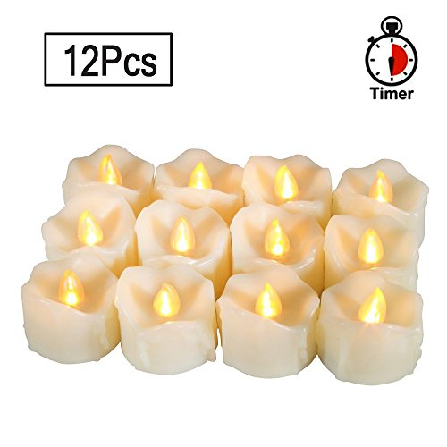 Outdoor Christmas Candle Bulb Lights in Florida - 6