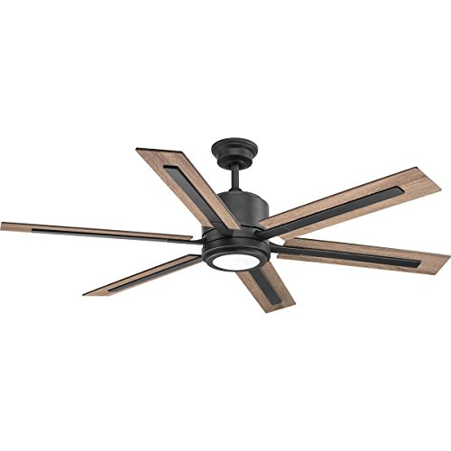 Progress Lighting P2586-7130K Glandon 60 Ceiling Fan, Black