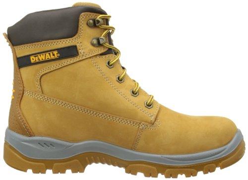 Dewalt TITANIUM - Calzature di protezione per gli uomini, di colore giallo (miele), dimensioni 45