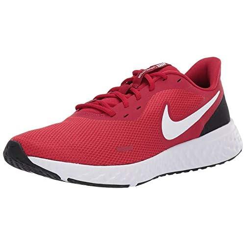 chollos oferta descuentos barato NIKE Revolution_5 Zapatillas Hombre Gym Red White Black 45 EU