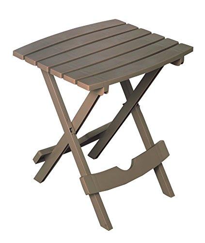 Adams Manufacturing 8500-96-3731, Portobello 8500-96-3700 Plastic Quik-Fold Side Table, Portobe
