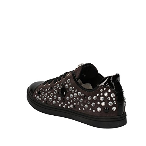 Limited Mujer Botticelli Gamuza Negro Sneakers aYYC4q