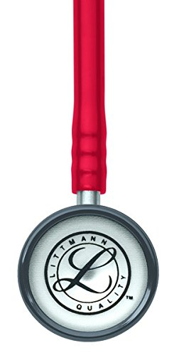 3M Littmann 2113R Classic II Pediatric Stethoscope, Red, 28 inch (Color: Red)