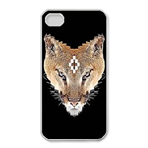 iPhone 4,4S Cell Phone Case white MARCELO BURLON LOGO FDHFGHFG852229
