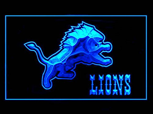 Detroit Lions Football Led Light Sign Detroit Lions Light