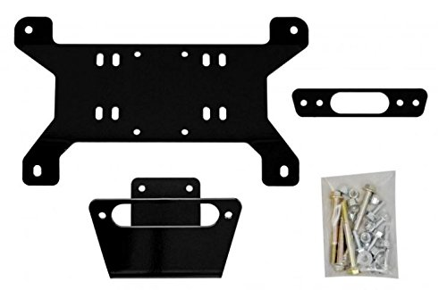 SuperATV Can-Am Maverick Standard / X MR / X RS / DPS / Max Heavy Duty Winch Mounting Plate (See Fitment)