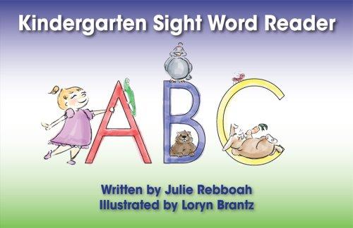 Kindergarten Sight Word Reader PDF