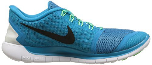 Free cp 0 voltage 5 black Nike blue Femme Chaussures Running Green Turquoise Lagoon De OqfFxdF