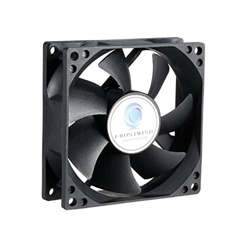uxcell 80mm Standard Case Fan High Speed CPU Cooler 80 mm PWM Computer Cooling Fan with 4-Pin Connector