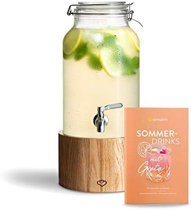 Dispensador de Bebidas 5.0 L con Grifo de
