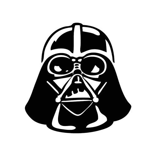 Athena Star Wars Darth Vader Empire Imperial Stormtrooper Black Decal Sith Skywalker Vinyl Window Auto Truck SUV Waterproof Bumper Sticker Size: 7.6