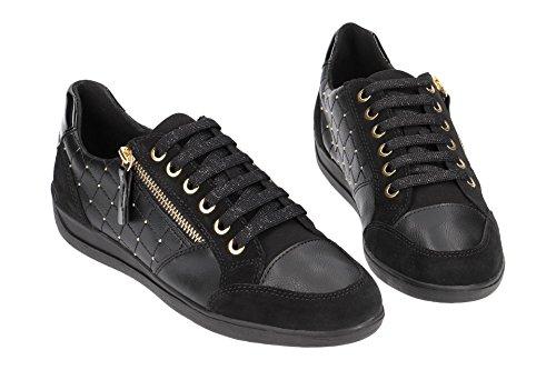 B C9999 Top D Black Sneakers WoMen Black Low Myria Geox BATqwT