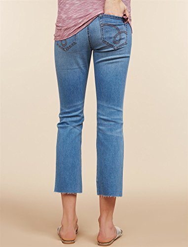 Jessica Simpson Secret Fit Belly Boot Cut Maternity Crop Jeans by Motherhood Maternity (Image #3)