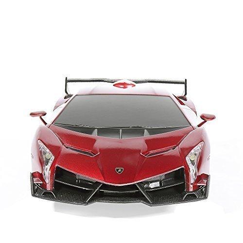 RW 1/24 Scale Lamborghini Veneno Automotive Radio Distant Management Sport Racing Automotive RC,Pink