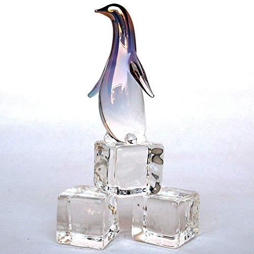 - Penguin Figurine of Hand Blown Glass