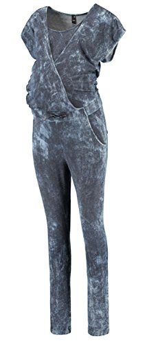 Love2Wait Jumpsuit Ober- und Unterteil Damen Umstandsmode Ganzkörperbody C141020
