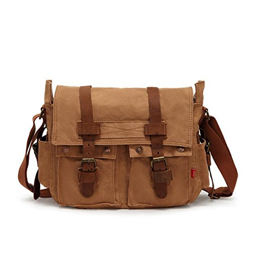 XY Fancy - Bolso al hombro para hombre marrón marrón, gris (gris) - RH#BB0829-0218-GC20 amarillo oscuro