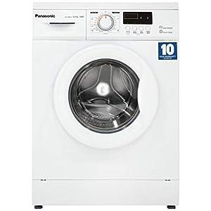Panasonic 6 kg Fully-Automatic Front Loading Washing Machine (NA-106MC2W01, White, Inbuilt Heater)