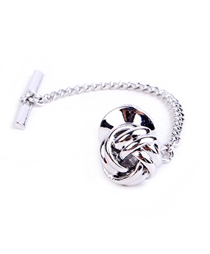 Sailor's Knot Premium Tie Tack (Silver) (Sailor Outfits For Men)