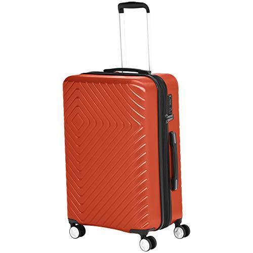 - AmazonBasics Geometric Luggage Expandable Suitcase Spinner - 3 Piece Set (20