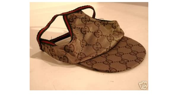 08850fc87d1b85 Gucci Dog Hat Cap - Authentic - New With Tags  Amazon.ca  Pet Supplies