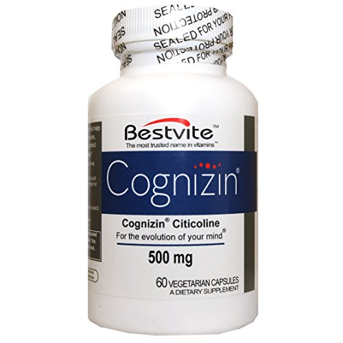 Cognizin Citicoline 500mg (60 Vegetarian Capsules)