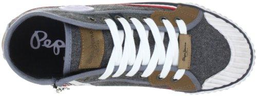 Pepe Jeans London PFS30482 PFS30482 - Zapatillas de deporte de tela para hombre Gris