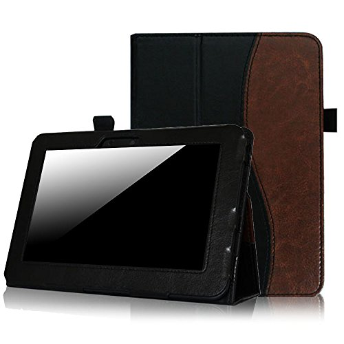 Fintie Slim Fit Leather Case Auto Sleep/Wake for Kindle Fire HD 7-Inch Tablet - 2012 Model -