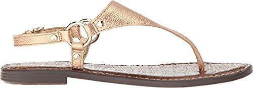 Edelman Leather Metallic Pink Greta Tumbled Women's Platinum Sandals Opal Fashion Sam SxqBCwdB