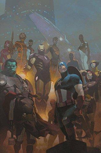 Marvel Avengers #24 Cover By Esad Ribic Printed Poster Frameless