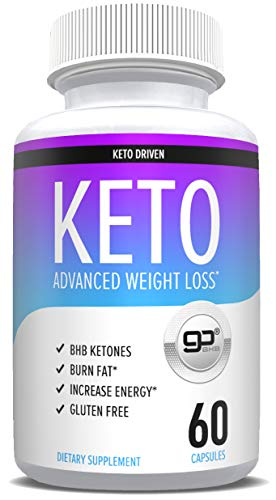 Keto Pills for Weight Loss - goBHB Formula - Weight Loss Supplements to Burn Fat Fast - Boost Energy and Metabolism - Best Ketosis Supplement for Women and Men - Nature Driven - 60 Capsules