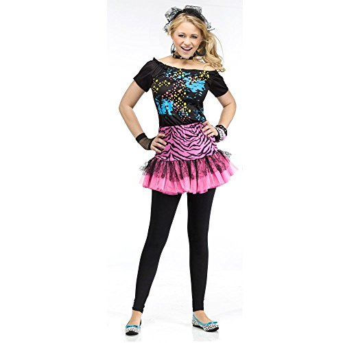 Teen Girls Halloween Costumes (Teen 80s Pop Party Costume Teen)