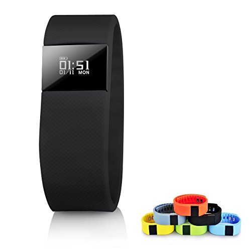 TW64 Smart Watch TopBest Bluetooth Bracelet Call Remind - Calorie Counter
